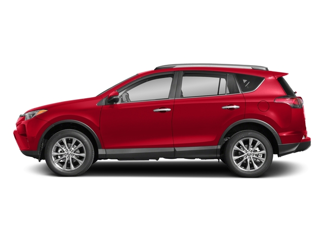 Ruby Flare Pearl 2018 Toyota RAV4 Pictures RAV4 Utility 4D Limited 2WD I4 photos side view
