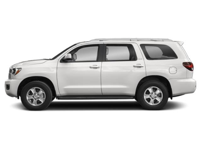 Super White 2018 Toyota Sequoia Pictures Sequoia Utility 4D Limited 4WD V8 photos side view