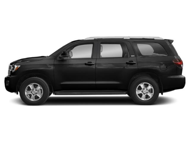 Midnight Black Metallic 2018 Toyota Sequoia Pictures Sequoia Utility 4D Limited 4WD V8 photos side view