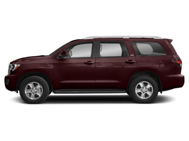 Sizzling Crimson Mica 2018 Toyota Sequoia Pictures Sequoia Utility 4D Limited 4WD V8 photos side view