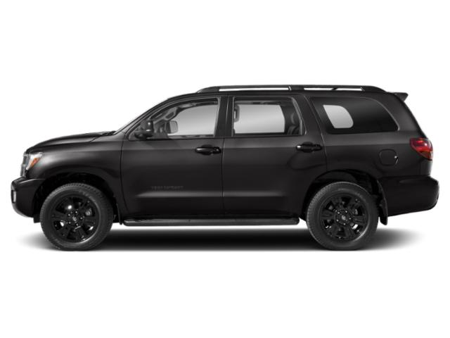 Magnetic Gray Metallic 2018 Toyota Sequoia Pictures Sequoia Utility 4D TRD Sport 2WD photos side view