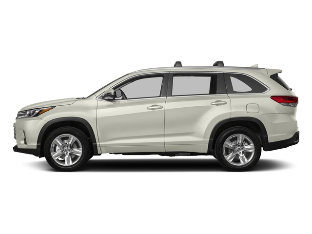 Blizzard Pearl 2018 Toyota Highlander Pictures Highlander Utility 4D Limited 4WD V6 photos side view