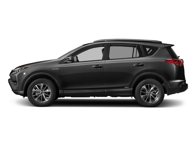 Magnetic Gray Metallic 2018 Toyota RAV4 Pictures RAV4 Utility 4D XLE AWD I4 Hybrid photos side view