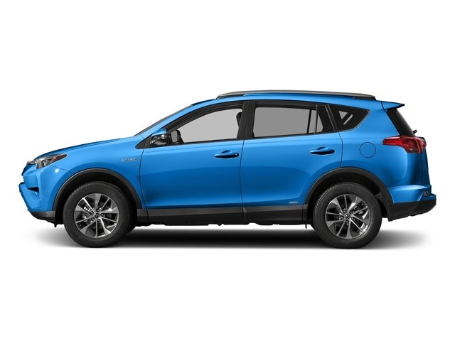 Electric Storm Blue 2018 Toyota RAV4 Pictures RAV4 Utility 4D XLE AWD I4 Hybrid photos side view