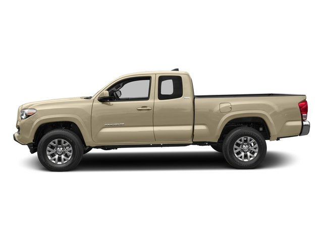 Quicksand 2018 Toyota Tacoma Pictures Tacoma SR5 Extended Cab 4WD I4 photos side view