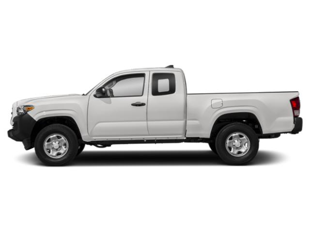 Super White 2018 Toyota Tacoma Pictures Tacoma SR5 Extended Cab 2WD I4 photos side view