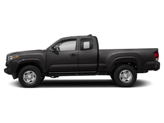 Magnetic Gray Metallic 2018 Toyota Tacoma Pictures Tacoma SR5 Extended Cab 2WD I4 photos side view