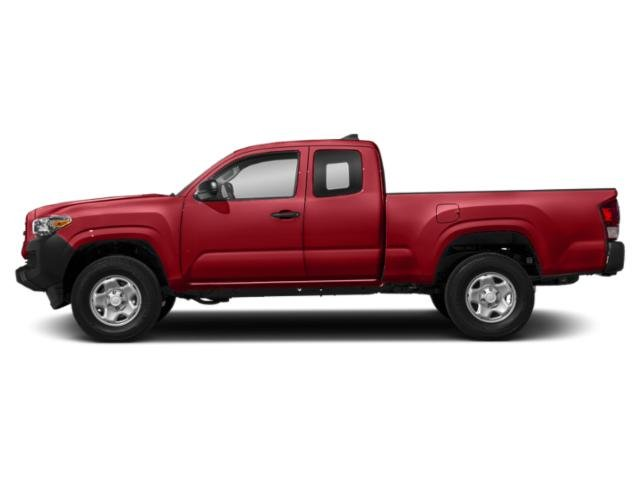 Barcelona Red Metallic 2018 Toyota Tacoma Pictures Tacoma SR5 Extended Cab 2WD I4 photos side view
