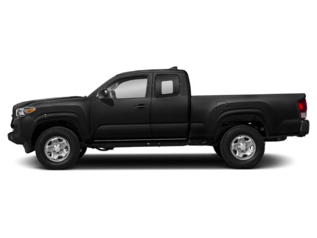 Midnight Black Metallic 2018 Toyota Tacoma Pictures Tacoma SR5 Extended Cab 2WD I4 photos side view