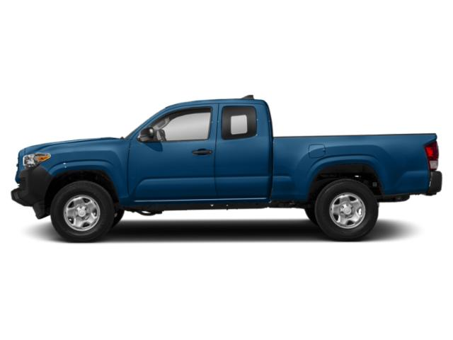 Blazing Blue Pearl 2018 Toyota Tacoma Pictures Tacoma SR5 Extended Cab 2WD I4 photos side view