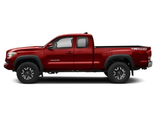 Inferno 2018 Toyota Tacoma Pictures Tacoma TRD Off-Road Extended Cab 4WD V6 photos side view