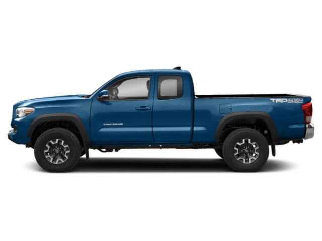 Blazing Blue Pearl 2018 Toyota Tacoma Pictures Tacoma TRD Off-Road Extended Cab 4WD V6 photos side view