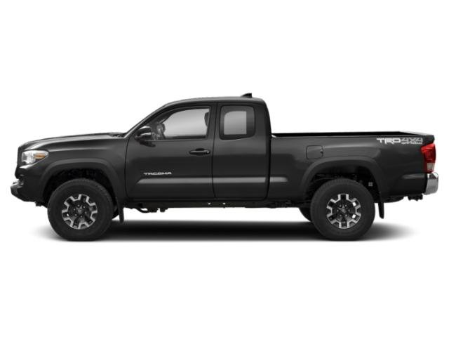 Midnight Black Metallic 2018 Toyota Tacoma Pictures Tacoma TRD Off-Road Extended Cab 4WD V6 photos side view