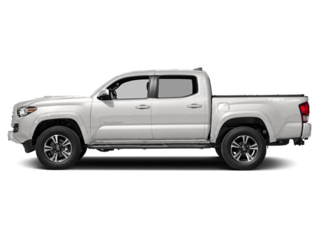 Super White 2018 Toyota Tacoma Pictures Tacoma TRD Sport Crew Cab 2WD V6 photos side view