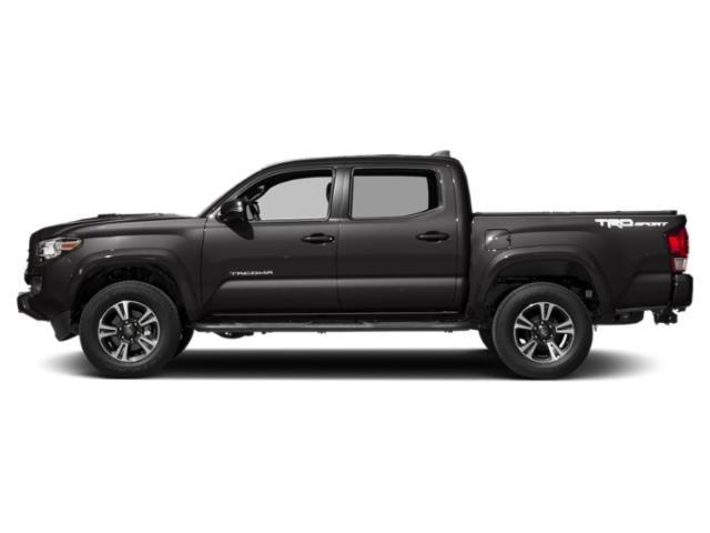 Magnetic Gray Metallic 2018 Toyota Tacoma Pictures Tacoma TRD Sport Crew Cab 2WD V6 photos side view