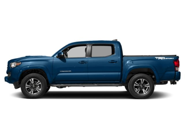 Blazing Blue Pearl 2018 Toyota Tacoma Pictures Tacoma TRD Sport Crew Cab 2WD V6 photos side view