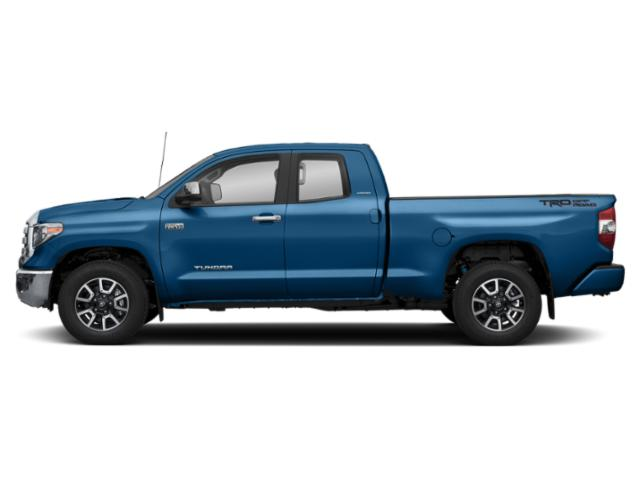 Blazing Blue Pearl 2018 Toyota Tundra 2WD Pictures Tundra 2WD Limited Double Cab 2WD photos side view