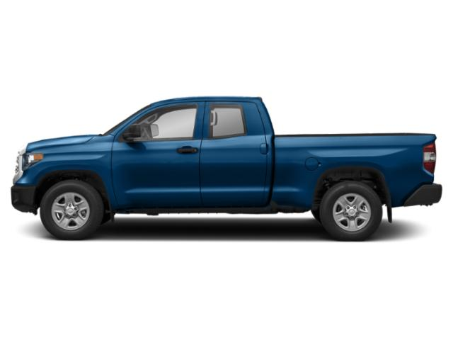 Blazing Blue Pearl 2018 Toyota Tundra 4WD Pictures Tundra 4WD SR5 Double Cab 4WD photos side view