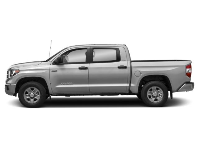 Silver Sky Metallic 2018 Toyota Tundra 4WD Pictures Tundra 4WD SR5 CrewMax 4WD photos side view