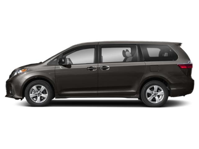 Predawn Gray Mica 2018 Toyota Sienna Pictures Sienna Wagon 5D LE AWD V6 photos side view