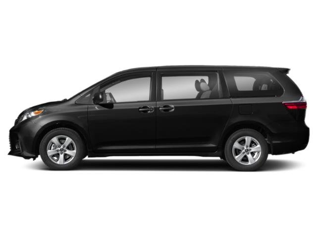 Midnight Black Metallic 2018 Toyota Sienna Pictures Sienna Wagon 5D LE AWD V6 photos side view