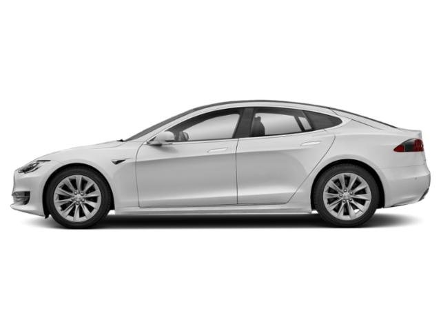 Pearl White Multi-Coat 2018 Tesla Motors Model S Pictures Model S Sedan 4D D 100 kWh AWD photos side view