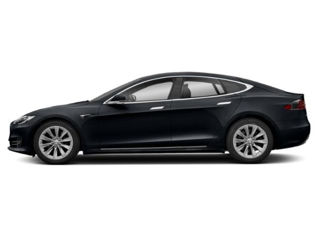 Midnight Silver Metallic 2018 Tesla Motors Model S Pictures Model S Sedan 4D D 100 kWh AWD photos side view