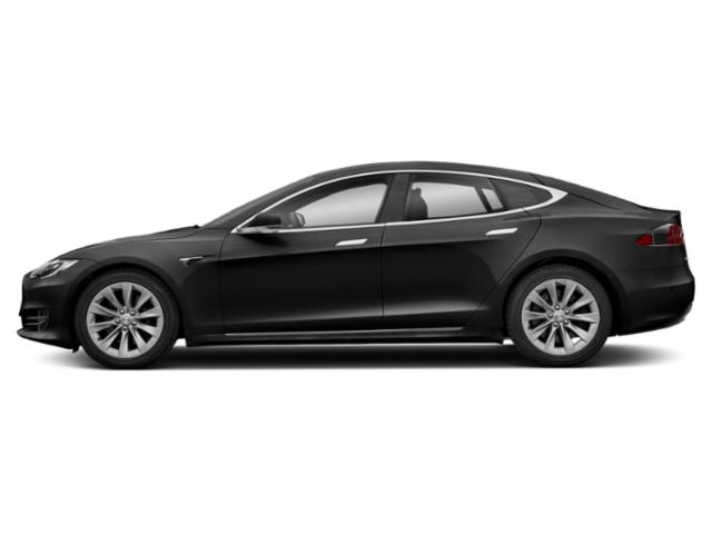 Obsidian Black Metallic 2018 Tesla Motors Model S Pictures Model S Sedan 4D D 100 kWh AWD photos side view