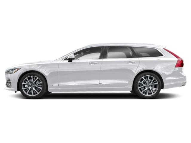 Ice White 2018 Volvo V90 Pictures V90 T6 AWD Inscription photos side view