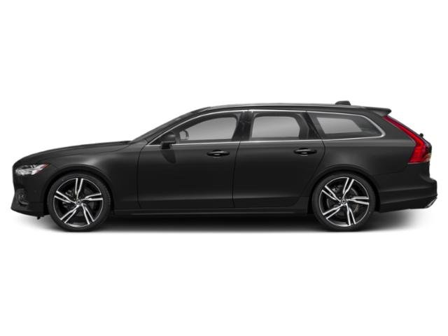 Savile Grey Metallic 2018 Volvo V90 Pictures V90 Wagon 4D T5 R-DesignTurbo photos side view