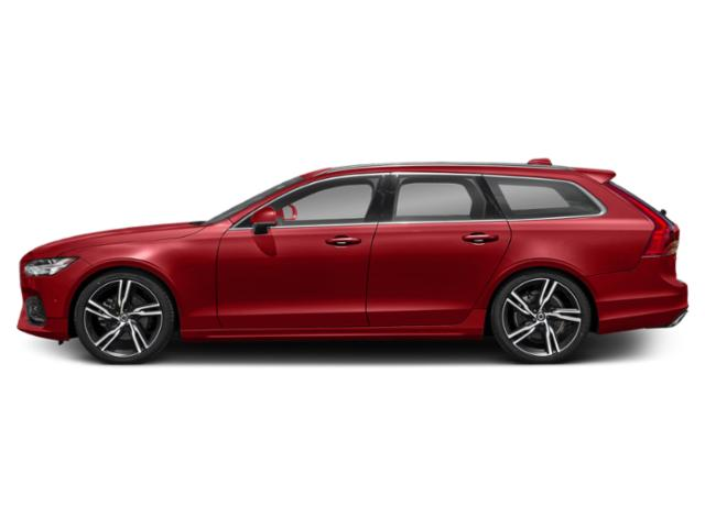 Passion Red 2018 Volvo V90 Pictures V90 Wagon 4D T5 R-DesignTurbo photos side view