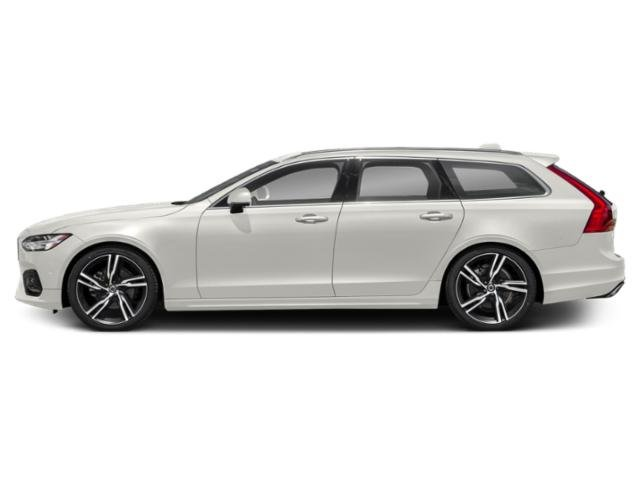 Crystal White Pearl Metallic 2018 Volvo V90 Pictures V90 Wagon 4D T5 R-DesignTurbo photos side view