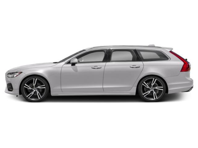 Bright Silver Metallic 2018 Volvo V90 Pictures V90 Wagon 4D T5 R-DesignTurbo photos side view