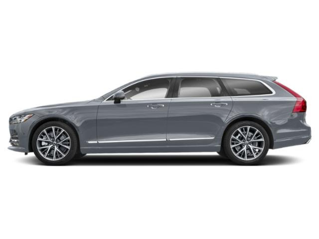 Mussel Blue Metallic 2018 Volvo V90 Pictures V90 T6 AWD Inscription photos side view