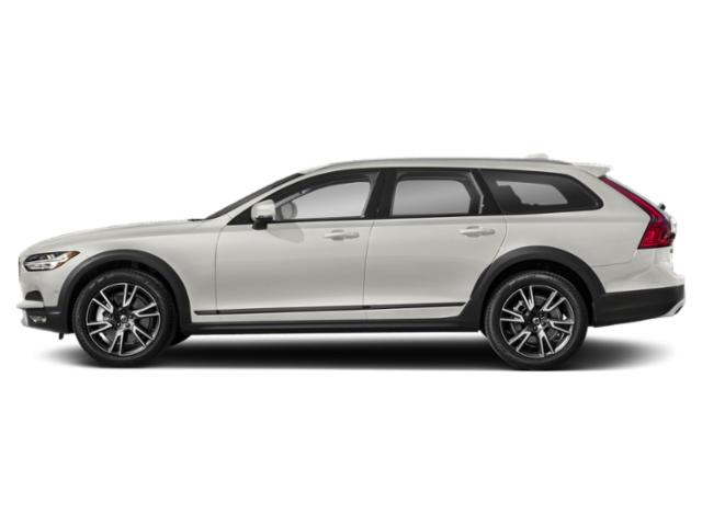 Crystal White Pearl Metallic 2018 Volvo V90 Cross Country Pictures V90 Cross Country Wagon 4D T5 AWD I4 Turbo photos side view
