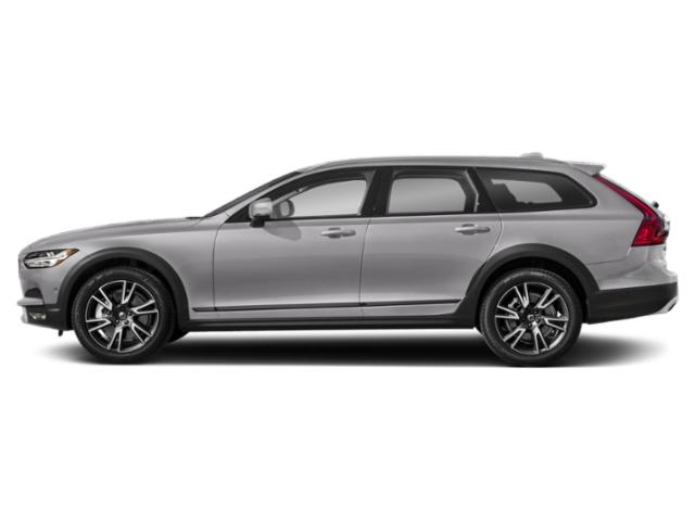 Bright Silver Metallic 2018 Volvo V90 Cross Country Pictures V90 Cross Country Wagon 4D T5 AWD I4 Turbo photos side view