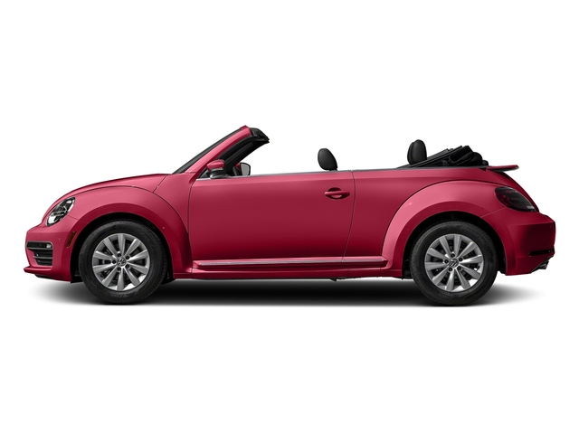 Tornado Red/Black Roof 2018 Volkswagen Beetle Convertible Pictures Beetle Convertible S Auto photos side view