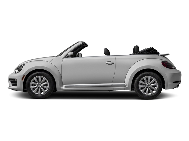 White Silver Metallic/Black Roof 2018 Volkswagen Beetle Convertible Pictures Beetle Convertible S Auto photos side view