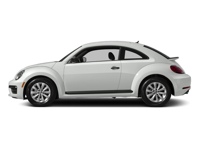 Pure White 2018 Volkswagen Beetle Pictures Beetle S Auto photos side view