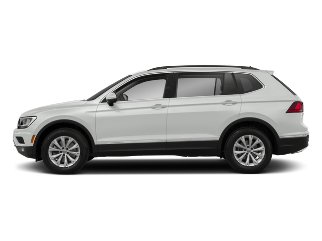 Pure White 2018 Volkswagen Tiguan Pictures Tiguan 2.0T SEL 4MOTION photos side view