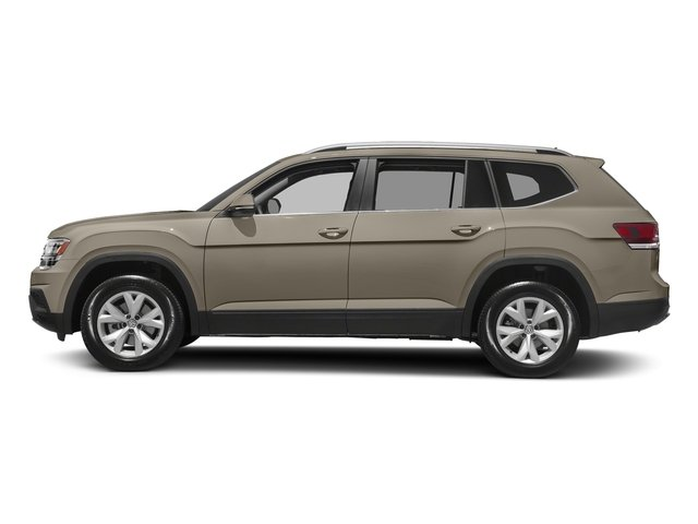Titanium Beige Metallic 2018 Volkswagen Atlas Pictures Atlas 3.6L V6 SEL 4MOTION photos side view