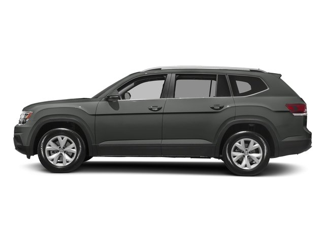 Platinum Gray Metallic 2018 Volkswagen Atlas Pictures Atlas 3.6L V6 S 4MOTION photos side view