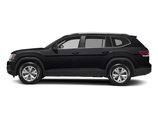 Deep Black Pearl 2018 Volkswagen Atlas Pictures Atlas 3.6L V6 S 4MOTION photos side view