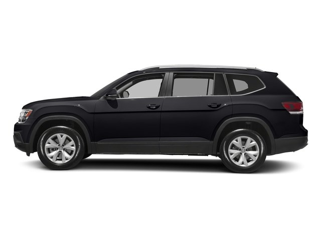 Deep Black Pearl 2018 Volkswagen Atlas Pictures Atlas 3.6L V6 SEL 4MOTION photos side view