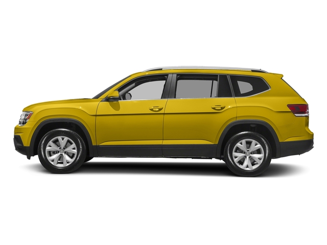 Kurkuma Yellow Metallic 2018 Volkswagen Atlas Pictures Atlas 3.6L V6 S 4MOTION photos side view