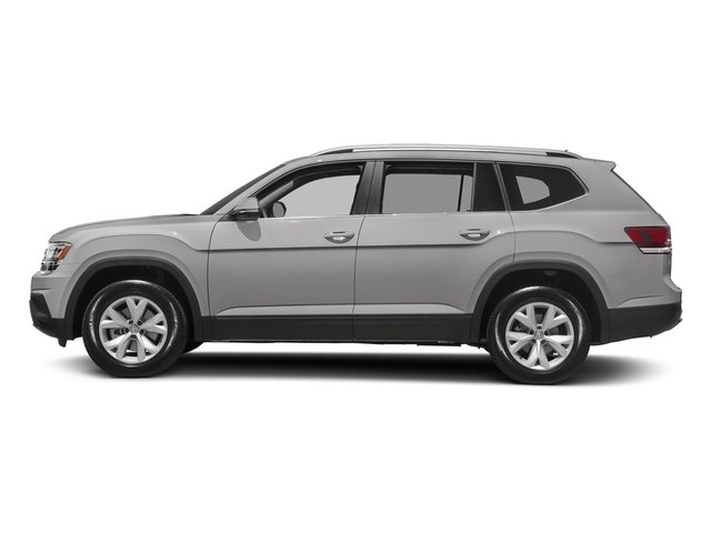 Reflex Silver Metallic 2018 Volkswagen Atlas Pictures Atlas 3.6L V6 SEL 4MOTION photos side view