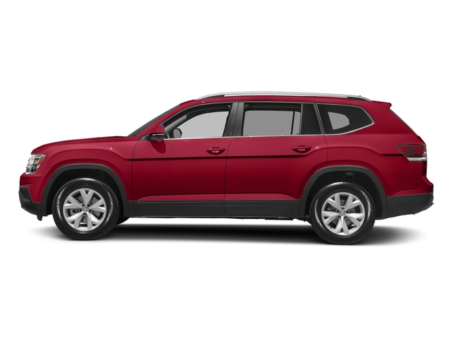 Fortana Red Metallic 2018 Volkswagen Atlas Pictures Atlas 3.6L V6 SEL 4MOTION photos side view