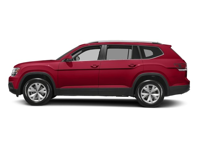 Fortana Red Metallic 2018 Volkswagen Atlas Pictures Atlas 3.6L V6 Launch Edition FWD *Ltd Avail* photos side view