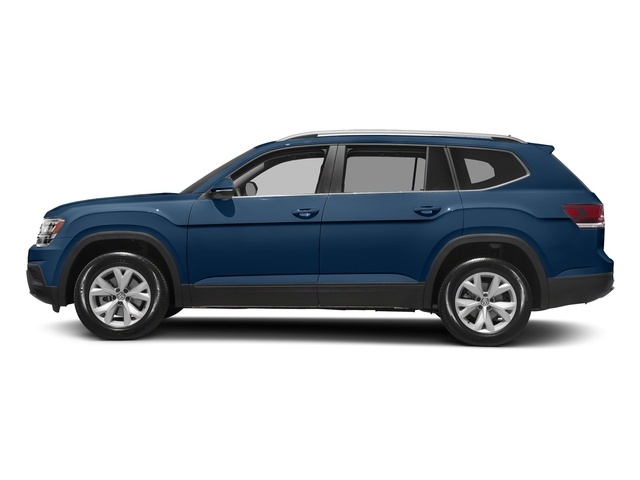 Tourmaline Blue Metallic 2018 Volkswagen Atlas Pictures Atlas 3.6L V6 S 4MOTION photos side view