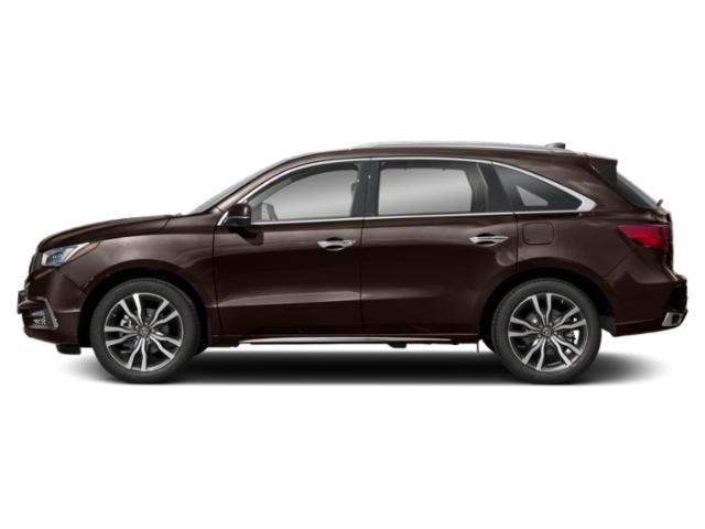 Canyon Bronze Metallic 2019 Acura MDX Pictures MDX FWD w/Advance/Entertainment Pkg photos side view